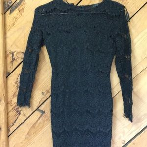 AX Paris black lace cocktail dress